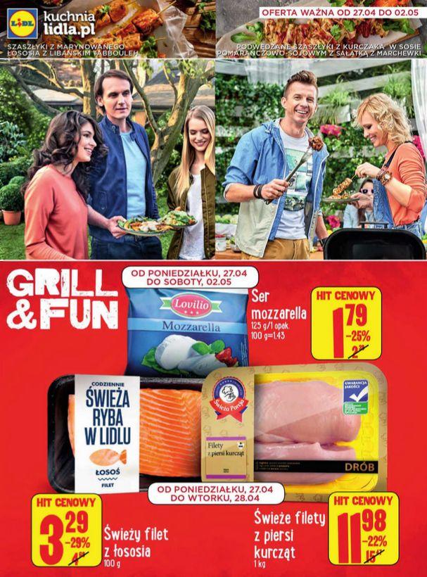 Spędź majówkę na grillowaniu z najlepszymi produktami z lidla :) http://www.promocyjni.pl/gazetki/23251-grill-fun-gazetka-promocyjna#page=1