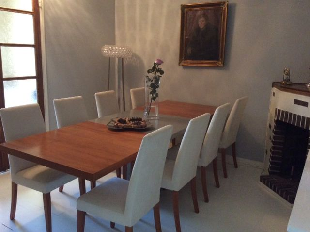 Dining room. Table and chairs for BoConcept.