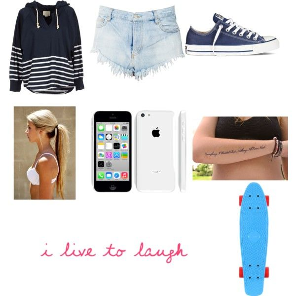 """""""Penny Boarding"""" by sweet-sour on Polyvore"""