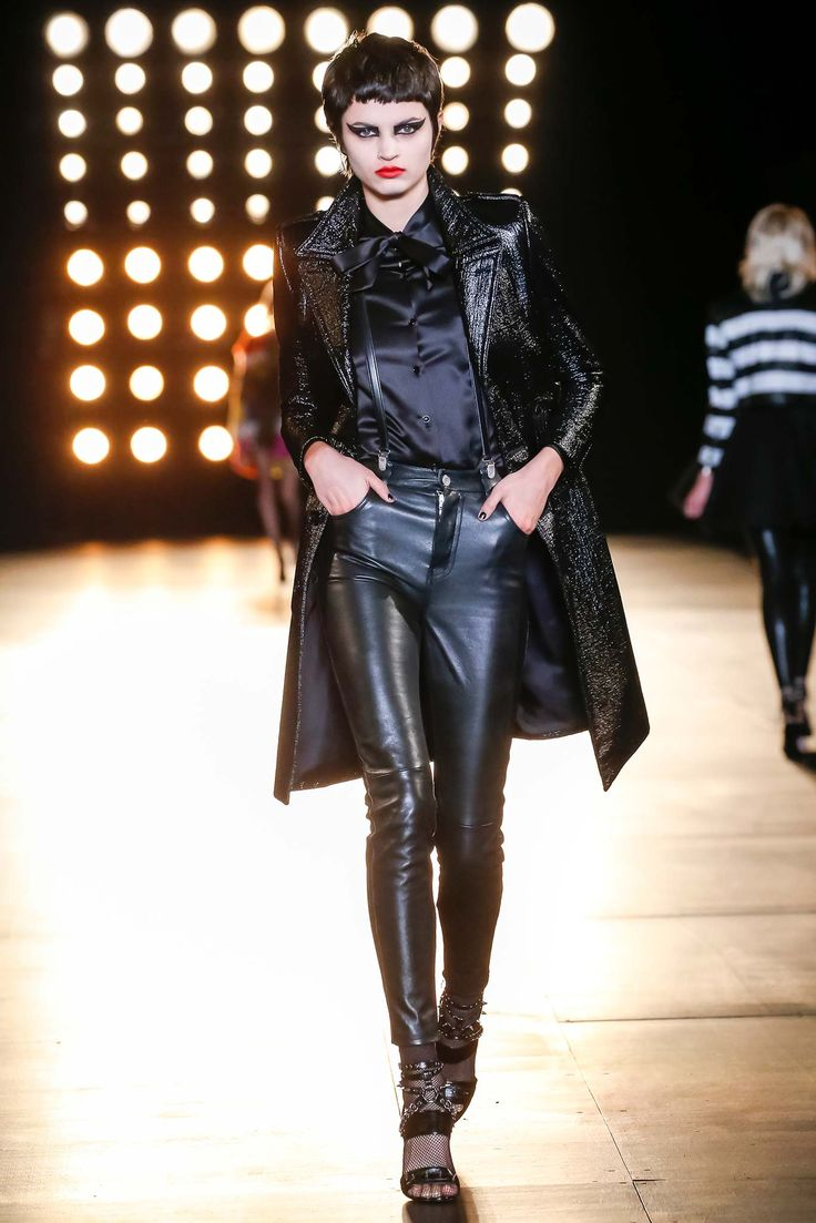 Saint Laurent - Fall 2015 Ready-to-Wear - Look 45 of 60