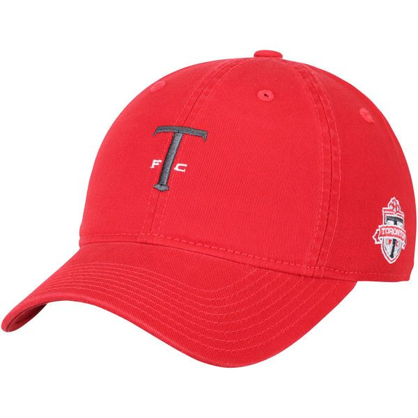 * Men's Toronto FC adidas Red Slouch Adjustable Dad Hat, Your Price: $23.99