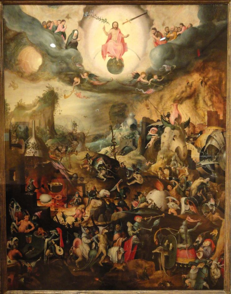 Last judgment jan mandyn 1550 paint it black for Andreas heintz