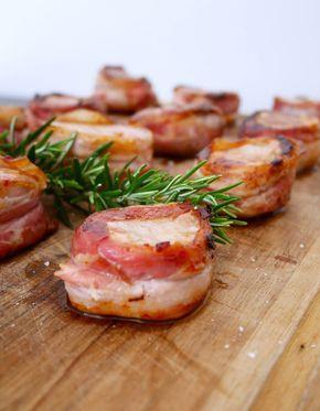 Medaglioni di filetto di maiale alla pancetta