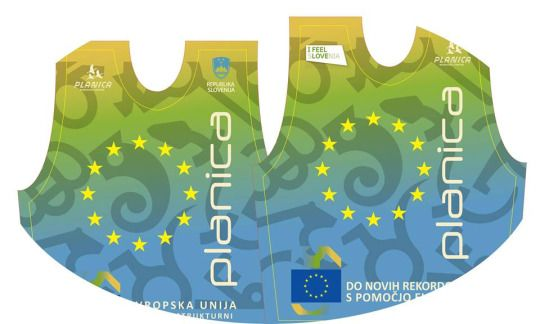 BIbs for trial jumpers in Planica 2015