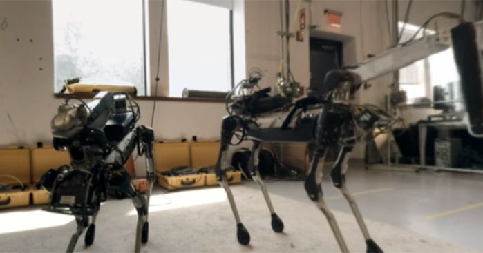 Go face-to-face with the world's most advanced robots and get a rare look inside Boston Dynamics' top secret lab, never before open to the public...until now.