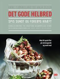 """""""Det gode helbred – spis sundt og forebyg kræft"""" af Anne Tjønneland og Anja Olsen er en ny kogebog fra forskere i Kræftens Bekæmpelse og resultatet af 20 års befolkningsundersøgelse."""