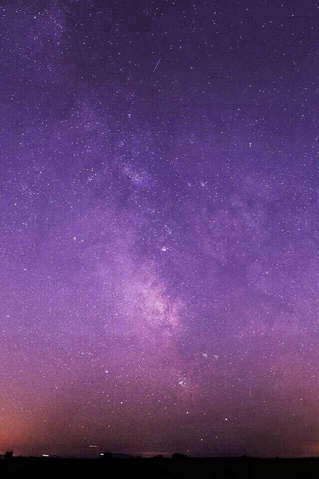 Purple Blue Galaxy Background Wallpaper
