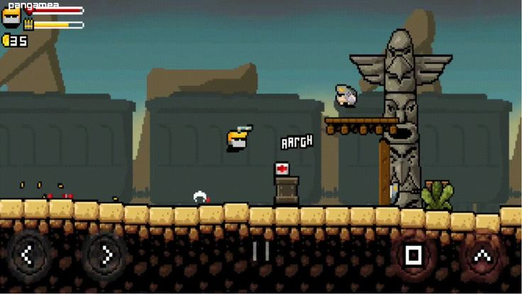 Gunslugs 2 - Quick-fire 2d shooter with lots of explosions