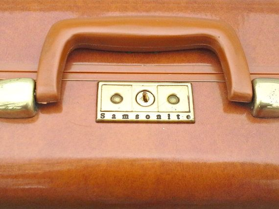 Vintage NEW Samsonite Men's Suitcase by VintageRelics802 on Etsy