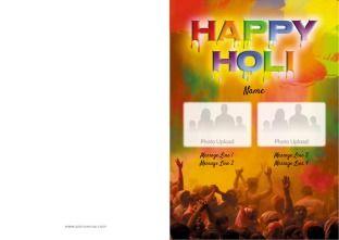 Choose your Holi Greeting Cards design
