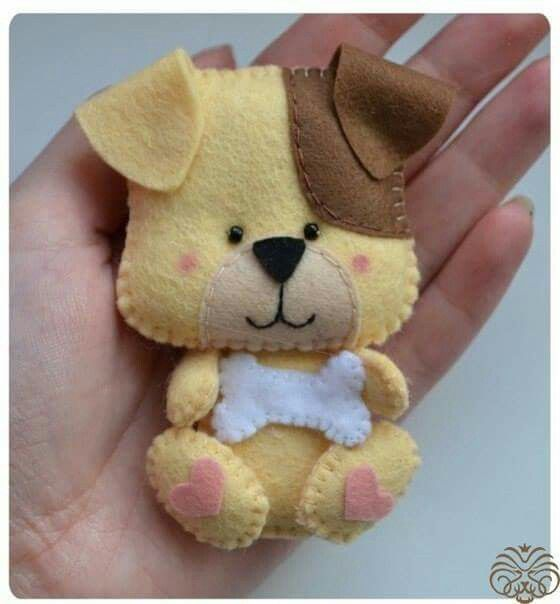 will try this cute little doggie in fondant cutouts