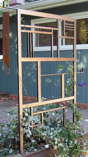 Art Deco Trellis, by K. Funk by MillerWelds.com, via Flickr