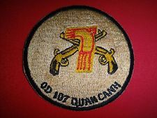 "Vietnam War Patch ARVN 7th INFANTRY Division Military Police ""QUAN CANH"""