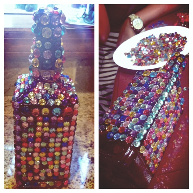 1000+ Images About Bedazzled Booze Bottles And Other DIY