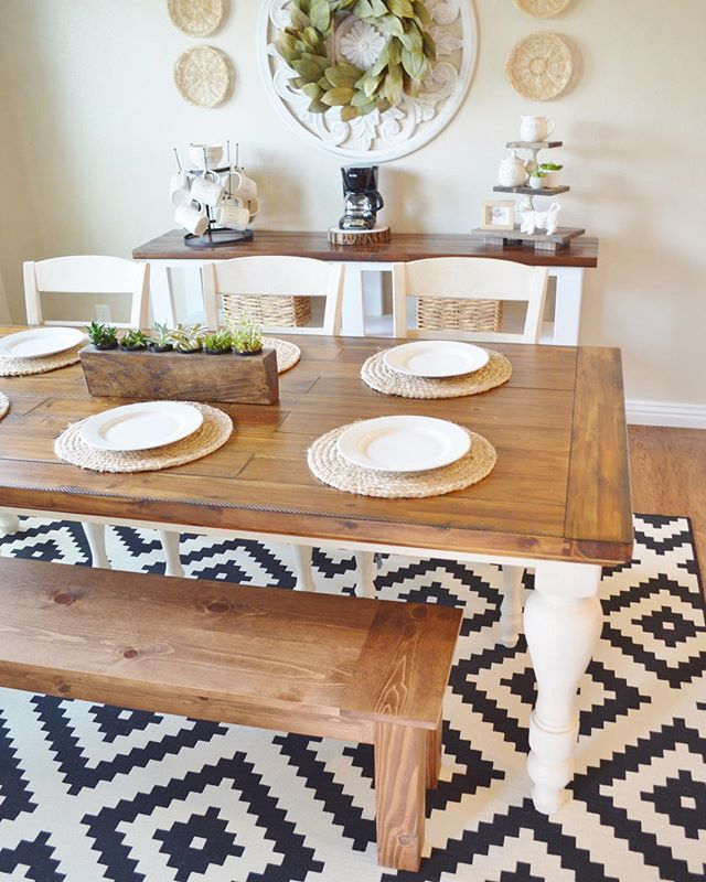 Marsilona Dining Room Table by Ashley HomeStore, Twotone