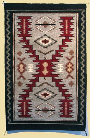 Storm pattern Navajo rug ▬ Please visit my Facebook page at: www.facebook.com/jolly.ollie.77