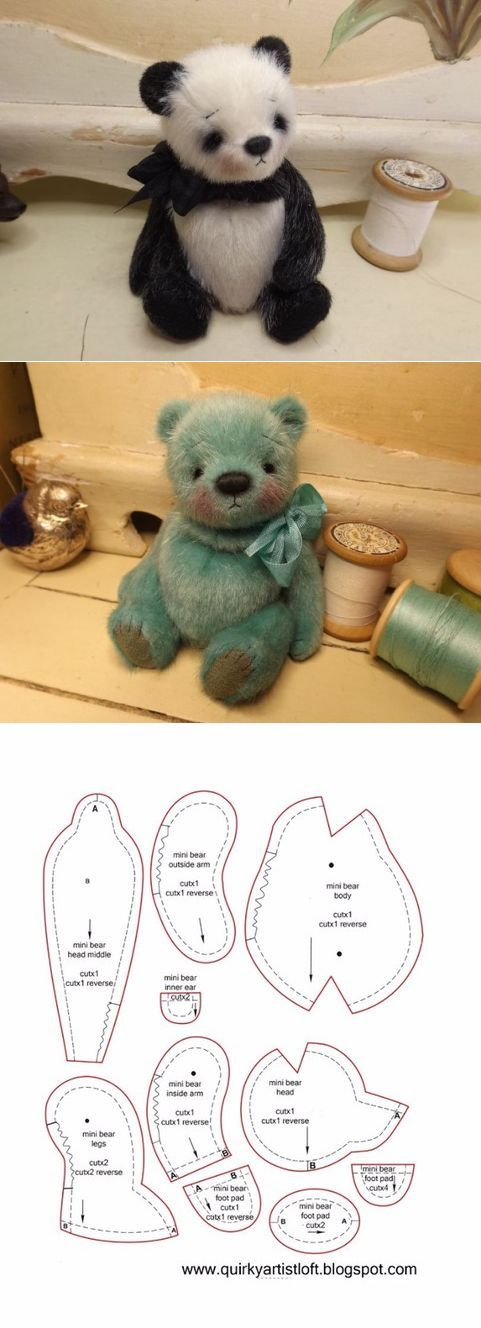 The 25 Best Teddy Bear Sewing Pattern Ideas On Pinterest