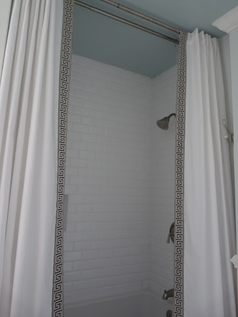 Best 25+ Double Shower Curtain Ideas On Pinterest | Tall Shower Curtains,  Blue Bathrooms Designs And Blue Upstairs Furniture
