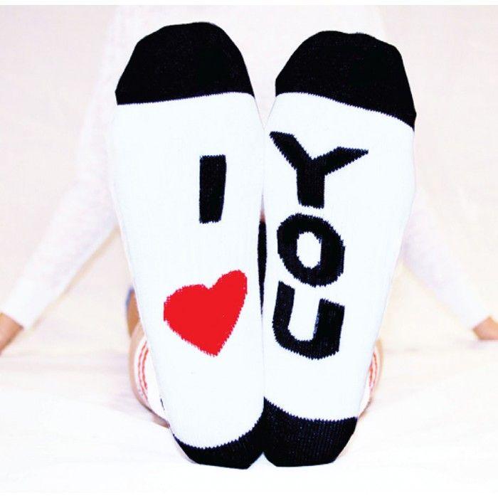 Arthur George by Robert Kardashian I Love You Socks - Trend Watch Socks