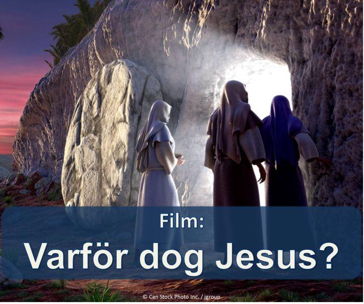 Jesu död hade ett syfte som kan vara till nytta för dig och din familj! Ta reda på hur i denna video.  https://www.jw.org/sv/publikationer/b%C3%B6cker/goda-nyheter-fr%C3%A5n-bibeln/vem-%C3%A4r-jesus-kristus/film-varf%C3%B6r-dog-jesus/ (Jesus' death had a purpose which can be beneficial for you and your family! Find out how in this video.)
