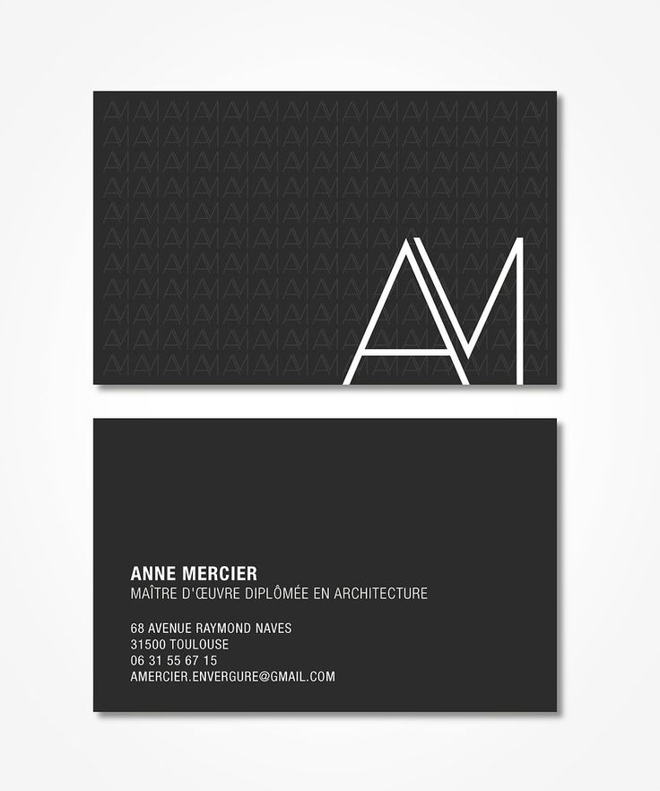 ARCHITECTE LOGO LOGOTYPE GRAPHISME CARD CARTE VISITE ILLSUTRATION GRAPHIC GRAPHIQUE DESIGN CC CCBRANDING #CCBRANDIND http://www.ccbranding.fr (simple business card logo)