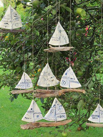 Segelschiffe für den Garten