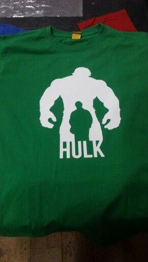 Polera Hulk CLP $7.000