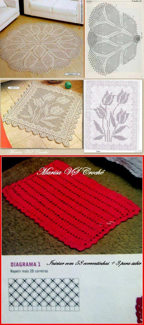 Crocheted Rugs...♥ Deniz ♥
