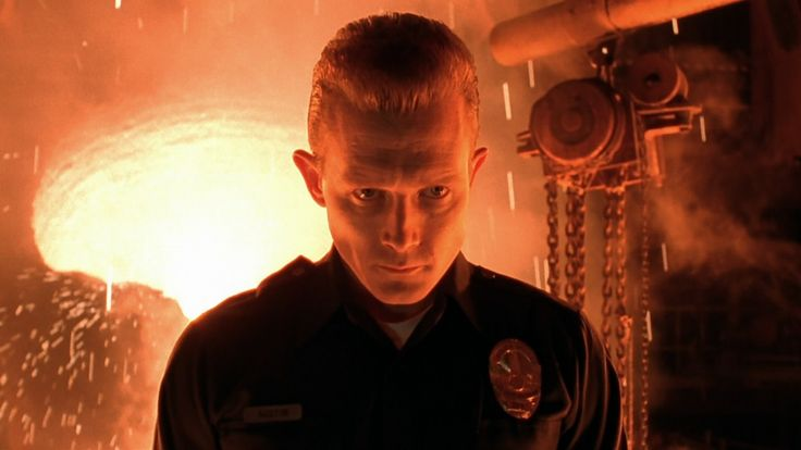 "Robert Patrick in ""Terminator 2: Judgement Day"" (James Cameron, 1991)"