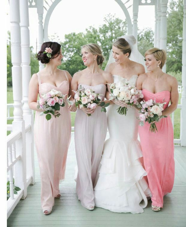 61 best bridesmaids dresses!! images on Pinterest | Brautjungfern ...