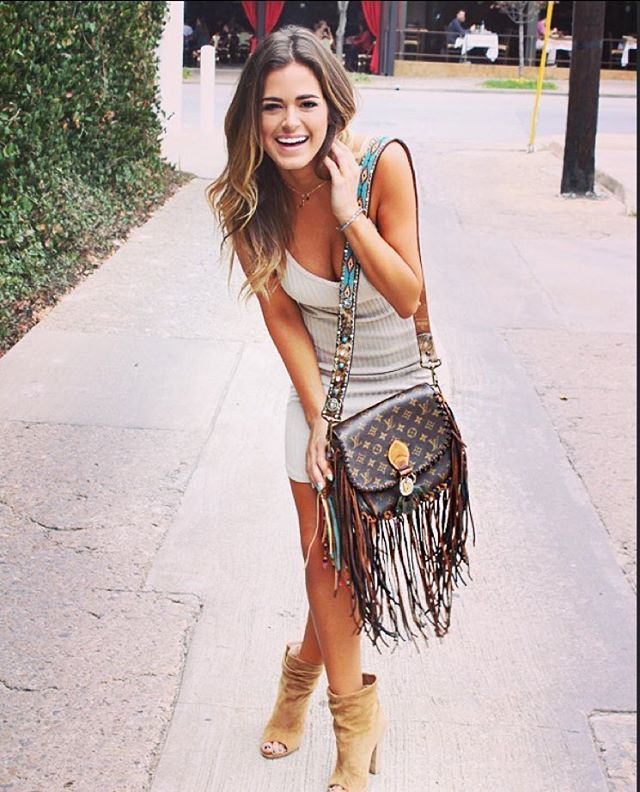 ~ All that I'm after is a life full of laughter ~ #handbagobsession @vintageswag.co (p.s. Booties are by Kristin Cavallari for Chinese Laundry)