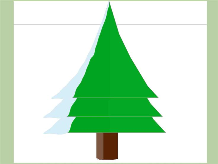 New Post realistic christmas tree drawing