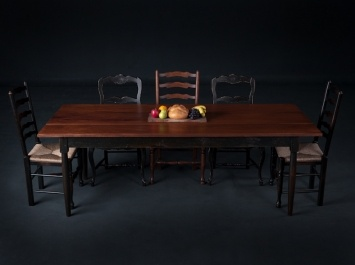 Custom Shaker Dining Table By Mobili Farm Tables Sustainable Antique Woods  The Very Best Custom Dining Table On The Market Today.