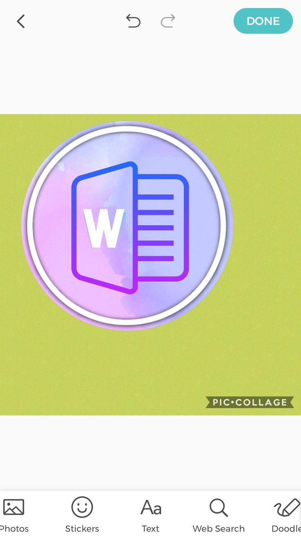 Brooke's desktop icons word Text web, Desktop icons, Doodles