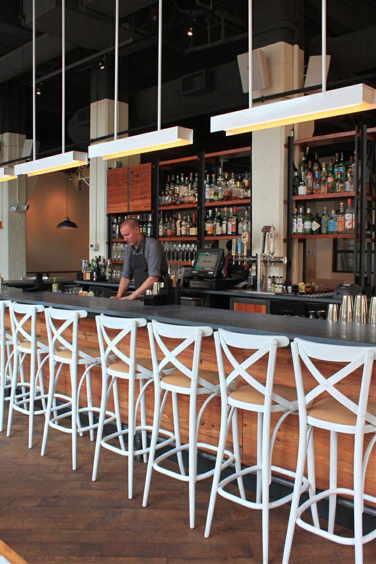 Get the Look: West Bridge Restaurant's Industrial Chic Design