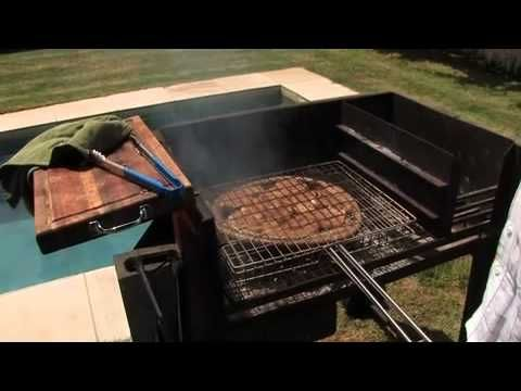 ▶ How to Braai: Boerewors (Sausage) & Chops