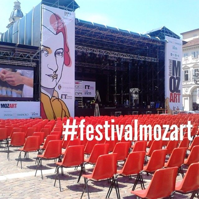 #festivalmozart in piazza San Carlo, #Torino, dal 18 al 23 luglio 2014. Info e programma: www.festivalmozart.it