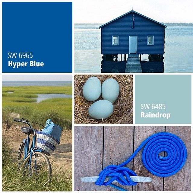 107 best brilliant blues - blue paint colors images on pinterest
