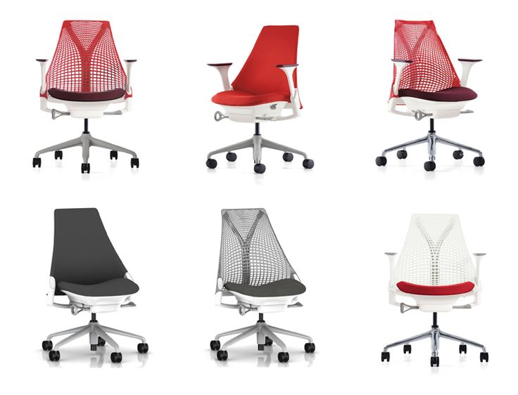 what a selection of colors the sayl herman miller