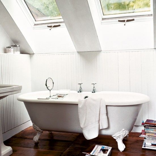 Farmhouse with modern addition | old and new | love the bathroom