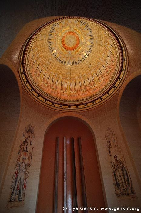 The Hall of Memory, The Australian War Memorial, Canberra, ACT, Australia
