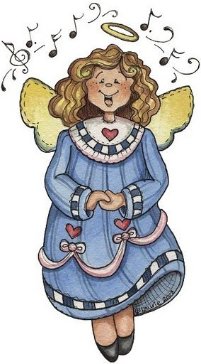 COUNTRY ANGEL CLIP ART