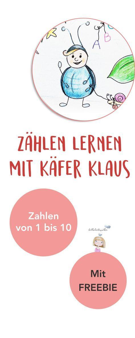 Zählen lernen mit Käfer Klaus – Backfee