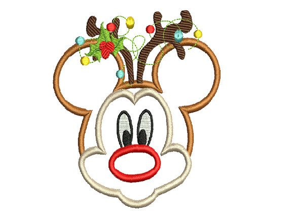 Instant Download Machine embroidery Design Mickey by Embroideryy, $2.75