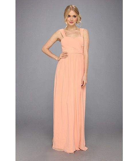 Donna Morgan Bailey Gown Peach Fuzz - Zappos.com Free Shipping BOTH Ways $189 sale