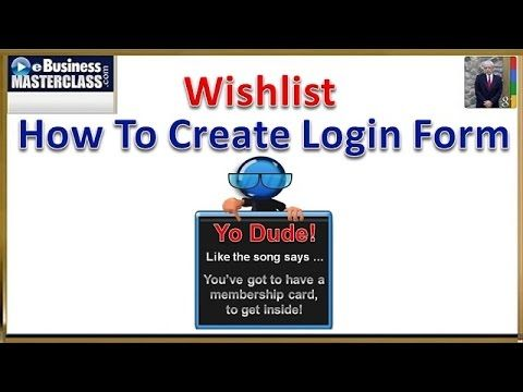 how to create online forms for website