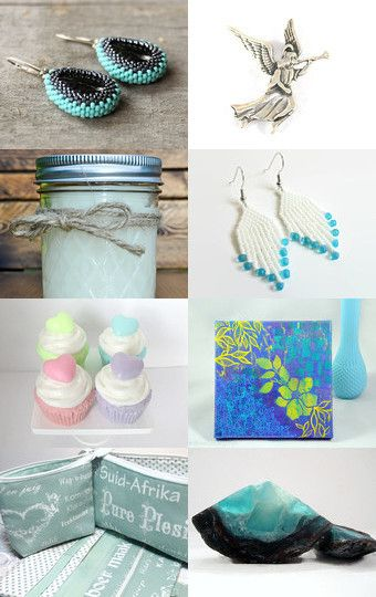 Summer Fresh - 10% Off All Featured Shops by Dobromira Ivanova on Etsy--Pinned with TreasuryPin.com