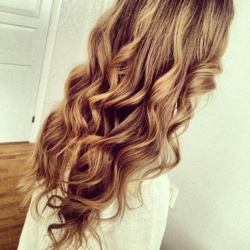 Сurly hair