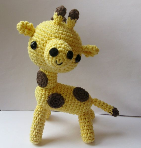 Amigurumi Giraffe  PDF crochet pattern by anapaulaoli on Etsy, $4.00