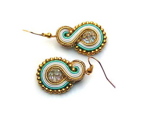 Trifle Blue earrings - Sutasz-Anka http://www.soutage.com/2013/04/trifle-blue-kolczyki.html